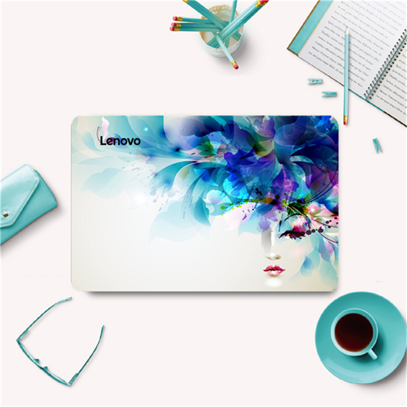 Laptop Skins For Lenovo Ideapad TianYi 300-15 305-15 Colorful Painting Vinyl Decal Personal DIY laptop Skin 15.6'' Case Stickers