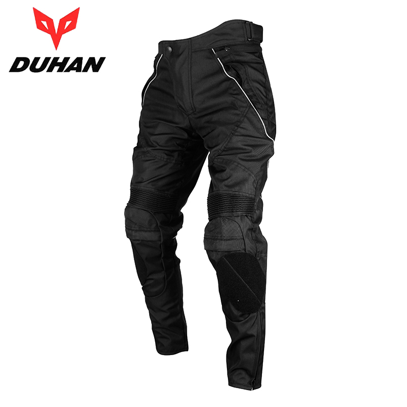 DUHAN Men's Waterproof Motocross Riding Sports Pants Removable Protector Guards Street Racing Windproof Motorcycle Trousers - Top-touch Technology Co.,Ltd store