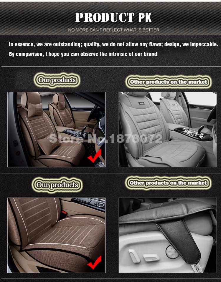 High quality linen Universal car seat cover for lada e30 e34 e36 e39 e46 e60 e90 f10 f30 x3/5/6 car accessories car styling