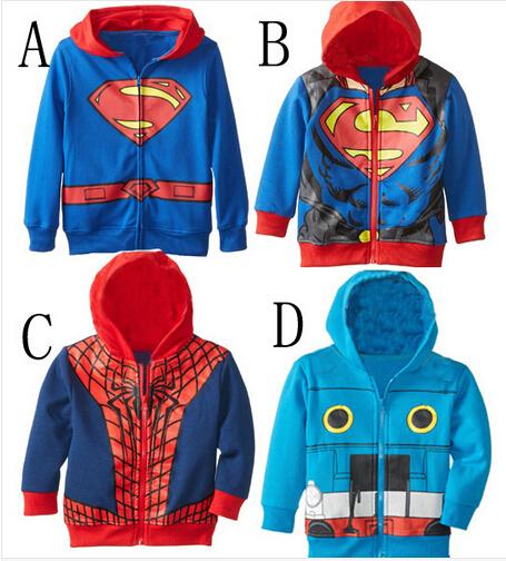 Superman hoodie for girls