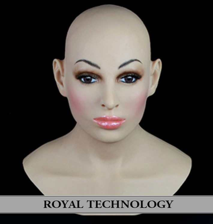 FR-14 silicone mask sale full head female realistic halloween celebrity masks latex - Royal Material Technology Co., Ltd store