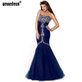 Crystal Prom Dress 2016 Women Pageant Dress for Weddings Transparent Sexy Long Mermaid Prom Dresses Beading