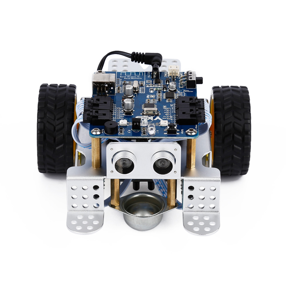 1pcs DIY mBot V1.1 Academic Robotic Equipment, Robotic Toy For robotics studying and STEM schooling, Simple to Assemble (2.4G Model)