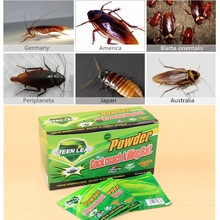50pcs/lot green leaves qing baits kill German Russian American Australian cockroach medicine insecticide cockroach killer(China (Mainland))
