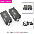 HDMI Over single 100m 328ft Extender Coaxial IR wireless HDMI transmitter receiver support HDMI 1 3