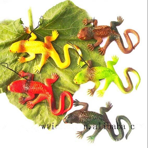 halloween horror prop insect toy simulation lizard 5pc/lot funny gadgets(China (Mainland))