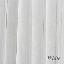 White tulle voile curtains for livingroom bedroom Japan voile custom drape transparent window sheer pull pleat tape pink(China)
