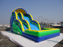 Inflatable Water Slide With Pool Summer Party(China (Mainland))