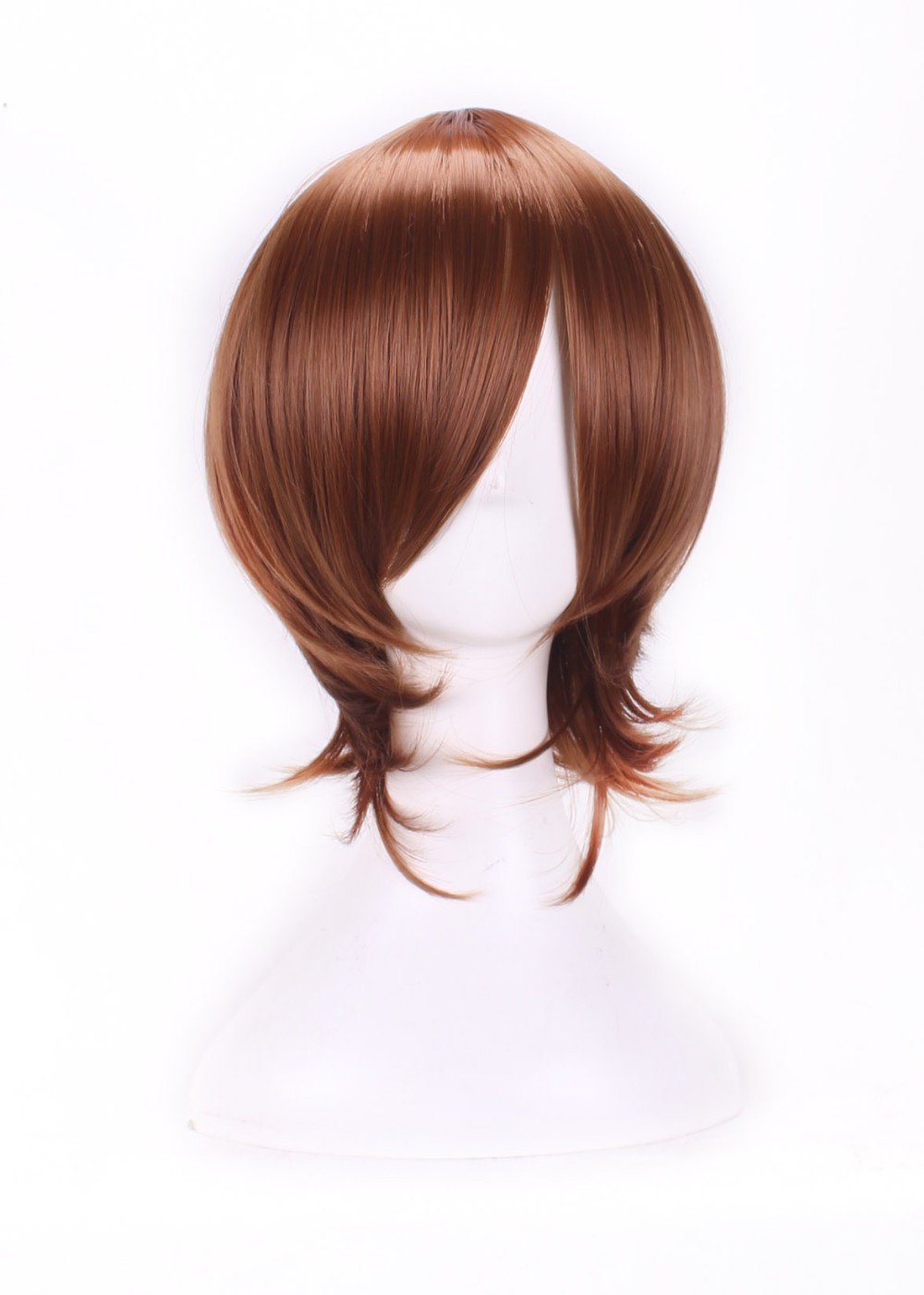 Short Brown Wigs Cosplay Anime Afro Kinky Wavy Mocha Modern Show Hair Products Ombre Love Live Cosplay Short Bob Cosplay Wigs<br><br>Aliexpress