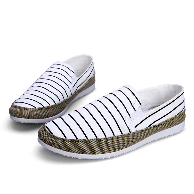 Summer style lazy men canvas shoes women casual fashion old Beijing male low help students espadrilles - Edelman store