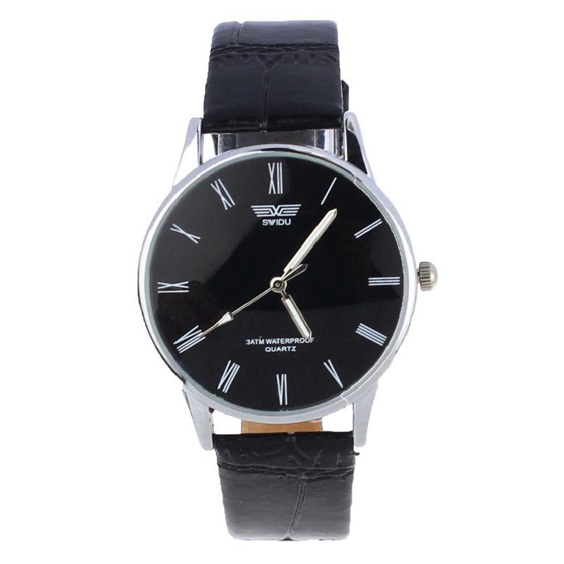 2015 New Quartz Men Watches Fashion Casual Luxury Leather Watch Elegant Sports Out Door Wristwatch relojio