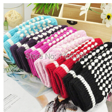 2014 new warm fashion korean style knitted winter women men male gloves girls lady thick mitten autumn female glove - Lucky Dog's House store