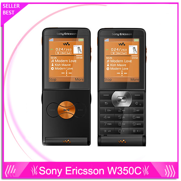 W350 Sony Ericsson W350c mobile phone Original Unlocked W350i cell phone W350a refurbished Free shipping(China (Mainland))