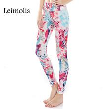 Buy Leimolis 3D print vintage flower sea winter warm Harajuku adventure time workout push plus size fitness leggings women pants for $11.90 in AliExpress store