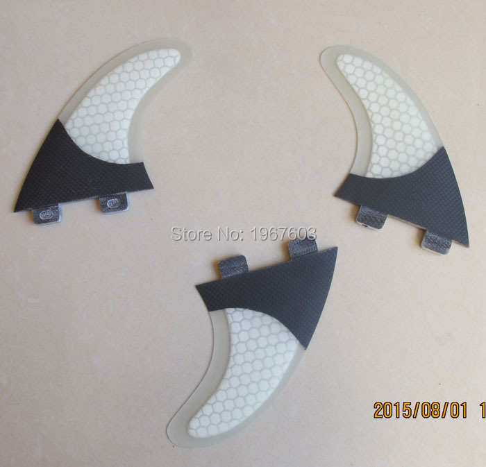 Carbon Glassfiber Honeycomb surf fin Tri G5 set for SUP, surfboard, stand up paddle board accessories thruster option 3pcs/lot(China (Mainland))