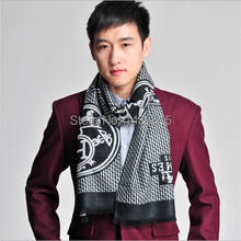 2015 European and American autumn and winter warm fashion men scarf and scarves mens  cashmere scarf men cachecol masculino(China (Mainland))