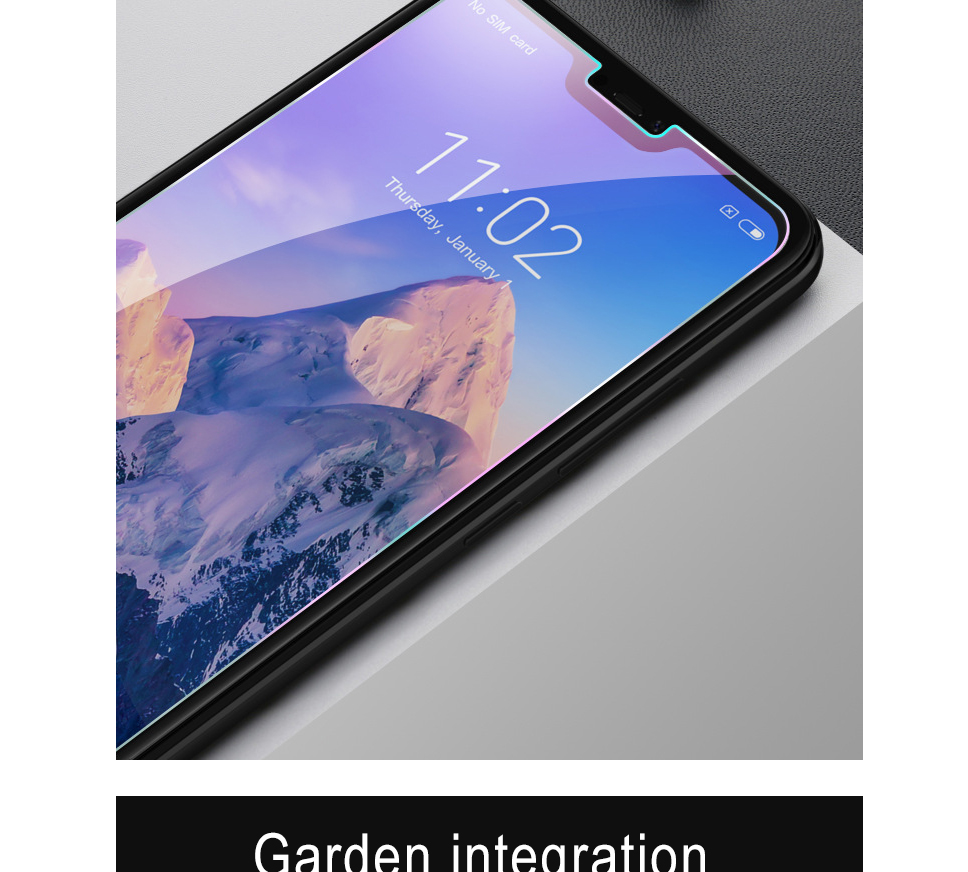 Nillkin Anti Explosion Transparent Mobile Phone Tempered Glass Full Layar Xiaomi Redmi Pro 3 02mm Subtle Thickness More Fit Bare Machine Visual