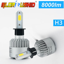 Buy 2Pcs H4 Led H7 H11 H1 H3 9005 9006 COB Chip S2 Auto Led Car Headlight 72W 8000LM Auto Front Bulb Automobiles Lamp 6500K xenon H7 for $19.72 in AliExpress store