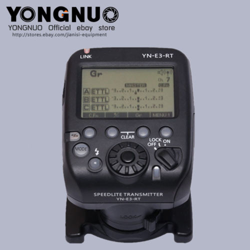 YONGNUO YN-E3-RT TTL Radio Trigger Speedlite Transmitter as ST-E3-RT for Canon 600EX-RT,YONGNUO YN600EX-RT<br><br>Aliexpress