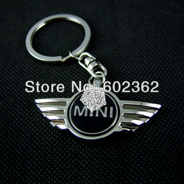 2014 Years Metal keychains /key chains / keyring Mini Cooper , Accept small orders Global ! - Dual-Morning General Merchandise Trading Firm Yiwu store