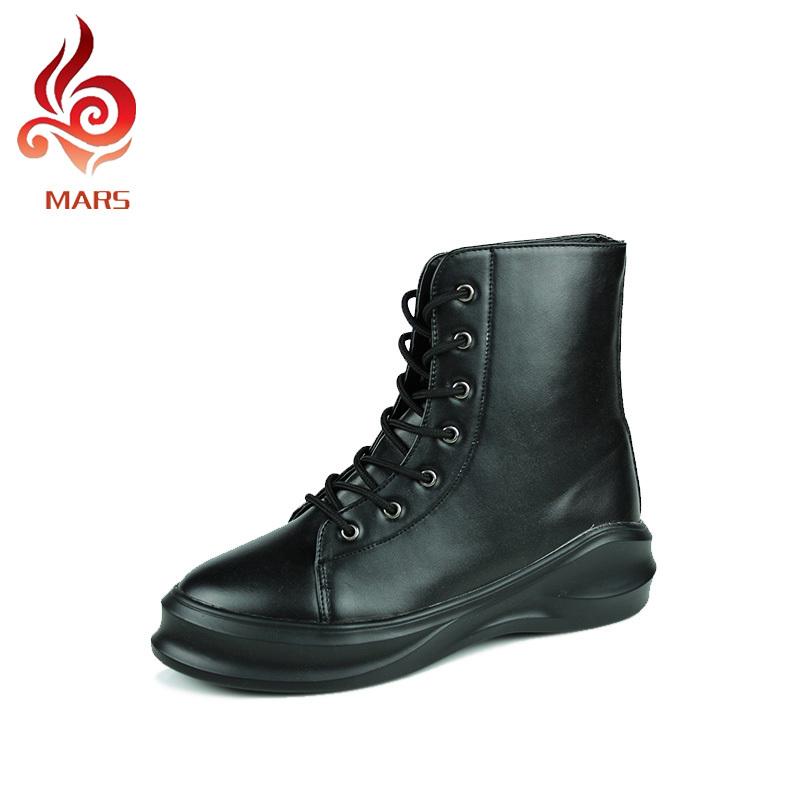 Combat Boots Fashion Men Casual