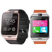 Многоязычным! Gv18 bluetooth наручные часы с камерой android-смарт часы поддержка NFC SIM smartwatch для Android смартфон