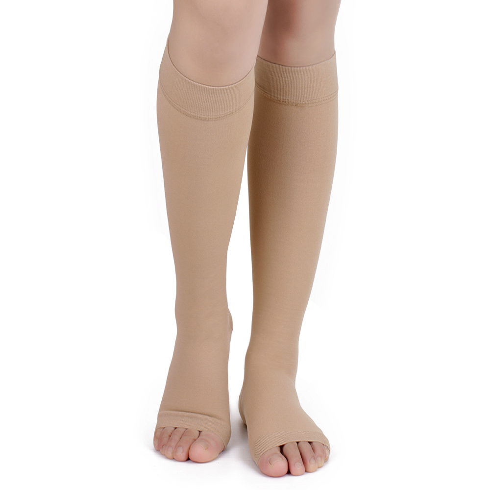Miracle Socks 20-30mmHg Antifatigue Compression Stockings Soothe Tired Achy Knee Socks Pantyhose Supports Toe Thigh Leg Stocking(China (Mainland))