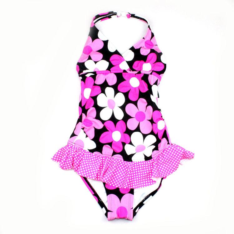Beautiful Baby Swimsuit girls UV protection swimwear children bathing suits kids one piece swim dress - Summer Swimwear Fan's Store store