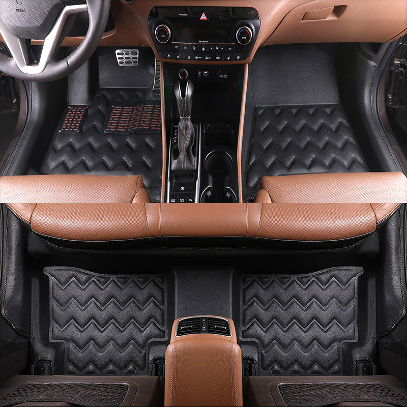 Car styling customed XPE car floor mats for AUDI A3A A4 A5 A7 Q3 Q5 Q7 S5 TOYOTA prado prius Sequoia Corolla Zelas Corolla Camry(China (Mainland))
