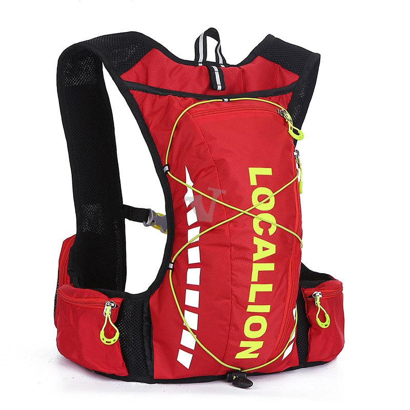 Гаджет  8L Professional Outdoor Backpack Bicycle Bike Backpack Packsack Running Backpack Fishing Bag Vest Bag Hydration Pack   None Камера и Сумки