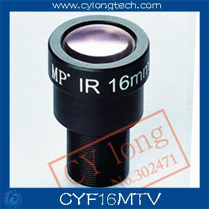 Гаджет  1/3`` cctv  camera lens f1.4  16mm  cctv  Lens for cctv camera . free shipping.CYF16MTV None Безопасность и защита