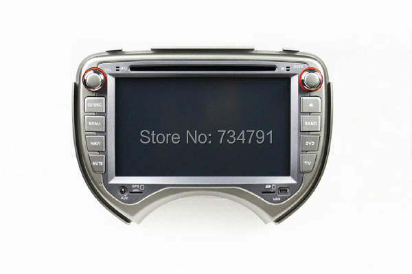 7 inch Special Car DVD Player GPS Nissan MARCH 2010-2011 Bluetooth,Ipod,Radio,3G usb host - guangzhoug joemy auto lights store