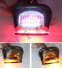 New Smoke LED Tail Light Brake Turn For 1999-2007 Harley Sportster Night Train Low Rider Dyna Glide Electra Road King Fat Boy(China (Mainland))