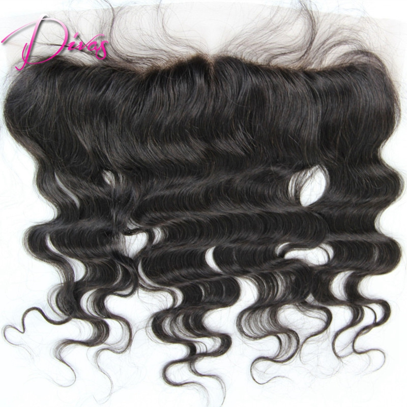 Brazilian Virgin Lace Frontal Closure Bleached Knots 13X4 with Free Shipping Full Lace Frontal with Baby Hair<br><br>Aliexpress
