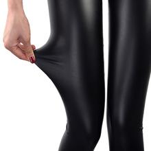 Искусственной Кожи Леггинсы Темно-Синий Sexy Women Легинсы Тонкие Черные Леггинсы Calzas Mujer Легинсы Леггинсы Большие Размеры Леггинсы Push Up(China (Mainland))