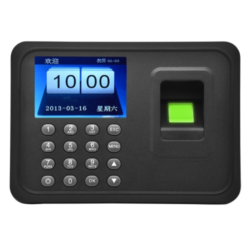 A6 2.4 inch Color TFT Screen Biometric Fingerprint Time Attendance USB Communication Office Time Attendance Clock(China (Mainland))