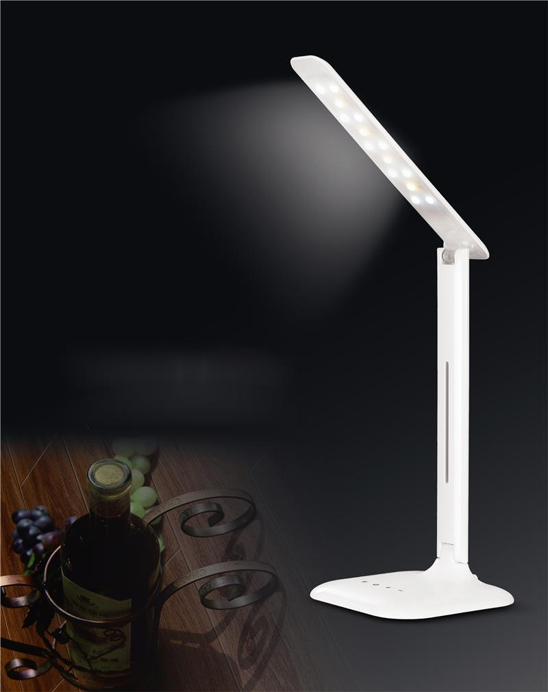 2016 new hot sale 5 Level Dimmable reading light LED Bulbs book light Desk Lamp Foldable LED modern table lamp night MSL-888(China (Mainland))
