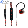 Sports Running Earphone HIFI Noise Cancelling fone de ouvido Bass Headsets Stereo with Mic Earbuds