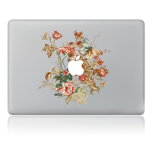 "Buy Exquisite beautiful flower series Vinyl Decal Sticker Skin Apple MacBook Pro Air Mac 11"" 13"" 15"" inch Laptop Skins for $7.99 in AliExpress store"