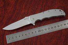 Acero 8CR13MOV ee.uu. Kershaw 3655 Volt SS plegable cuchillos de caza del cuchillo campamento exterior 410 manija envío gota