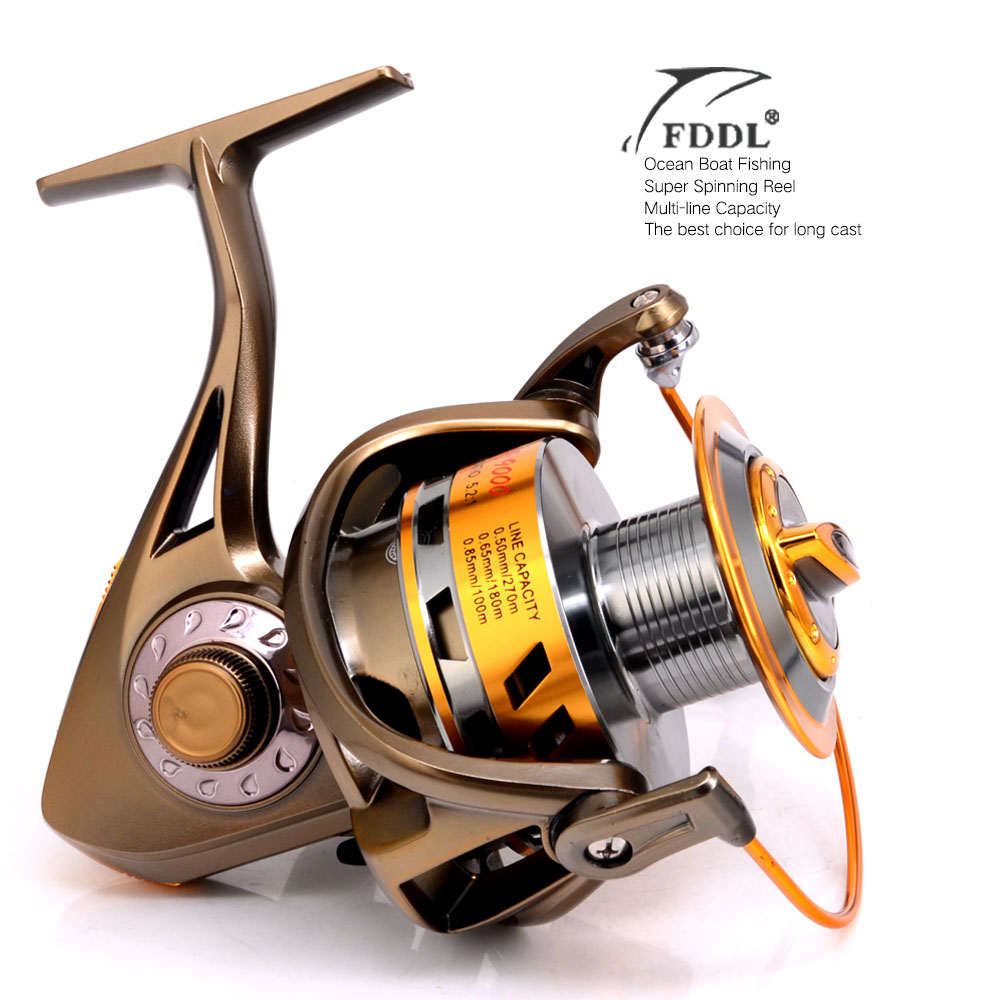 Fishing spinning reel 8000 & 9000 12+1BB saltwater high-profile upscale boutique spinning reel FDDL ocean fishing reels(China (Mainland))