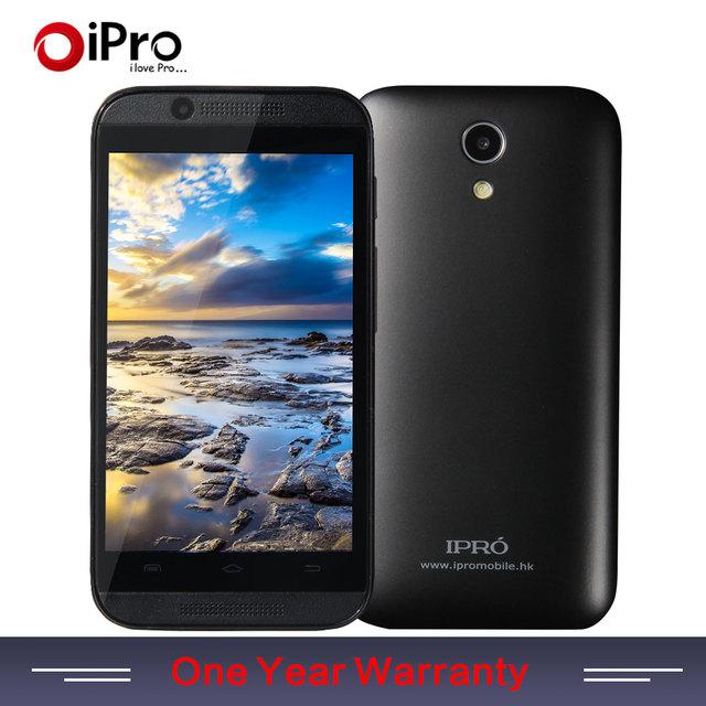 Ipro оригинальный россии 3 г WCDMA смартфон Android 4.4 мобильный телефон 4 ГБ ROM двухъядерный 4 дюймов сотовых телефонов с серебряной черной Cloor