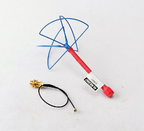 DALRC 2.4G DIY Circular Polarized Antenna - RP-SMA Plug (for TX/RX) for RC Multicopter(China (Mainland))