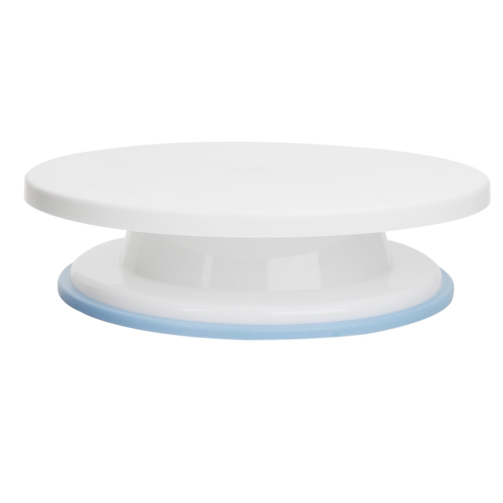 New Plastic Cake Turntable Rotating Cake Decorating Turntable General/Anti-skid Round Cake Stand Cake Rotary Table(China (Mainland))