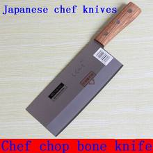 """XY 7"""" Inch Japanese Chef Knife Meat Cleaver Kitchen Knife With Wood Handle Multifunctional Stainless Steel Kitchen Accessories"""