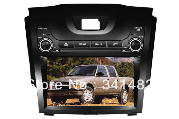 Two Din 8 inch CAR DVD PLAYER WITH GPS FOR CHEVROLET S10 Navigation Radio Bluetooth PIP TV Free Maps - Shenzhen TomTop E-commerce Technology Co., Ltd. store