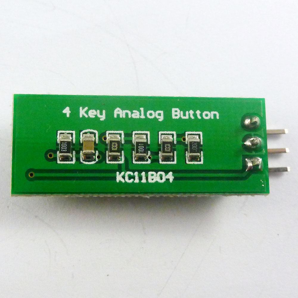 With arduino sketch ad keypad button keyboard adc