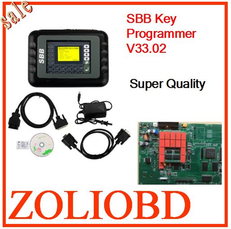 2016 Top Quality Free ship Silca SBB V33.02 Key programmer Wholesale Price multi langauge sbb Key Programmer V33.02 silca sbb(China (Mainland))