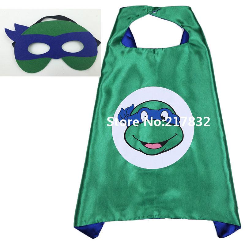 2 teenage mutant ninja turtles Costume Mask Kids HalloWeen Party - I LOVE BRAZIL store