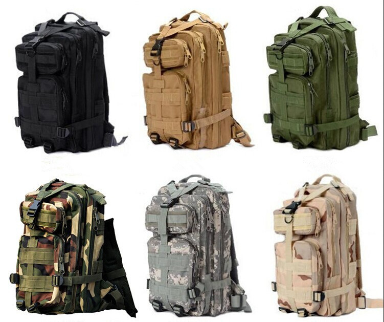 2014 Men's Outdoor Military Tactical Backpack Rucksack Camping Hiking Trekking equipment bag Multifunctional bags - etopmall store